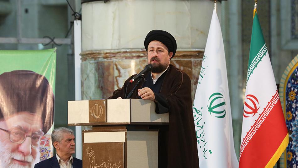 حجت الاسلام و المسلمین سیدحسن خمینی مطرح کرد: برگزاری رزمایش برکت امام خمینی(ره) اقدامی ارزشمند است