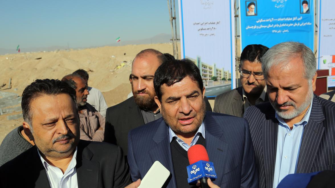 مخبر در جمع خبرنگاران اعلام کرد: ایجاد ۴۰ هزار شغل توسط ستاد اجرایی فرمان امام در سیستان و بلوچستان